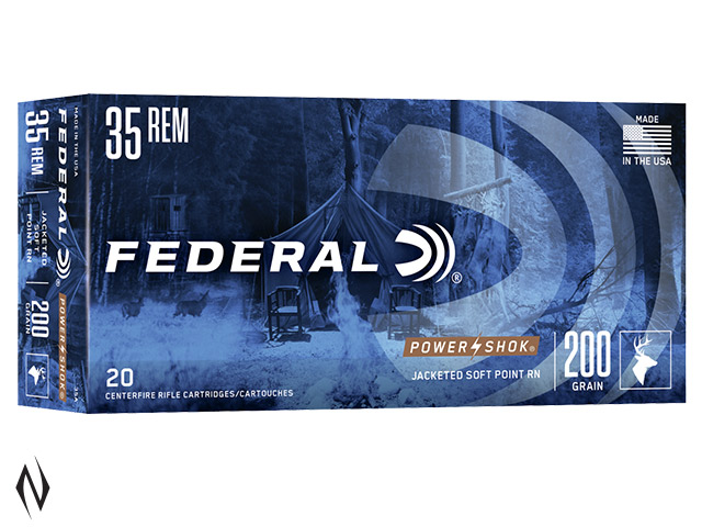 FEDERAL 35 REM 200GR SP POWER-SHOK Image