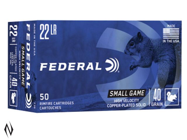 FEDERAL 22LR 40GR SOLID HV GAME-SHOK 50PK 1240FPS Image