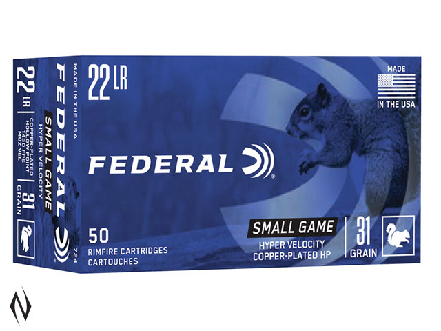 FEDERAL 22LR 31GR HP HV GAME-SHOK 1430FPS Image