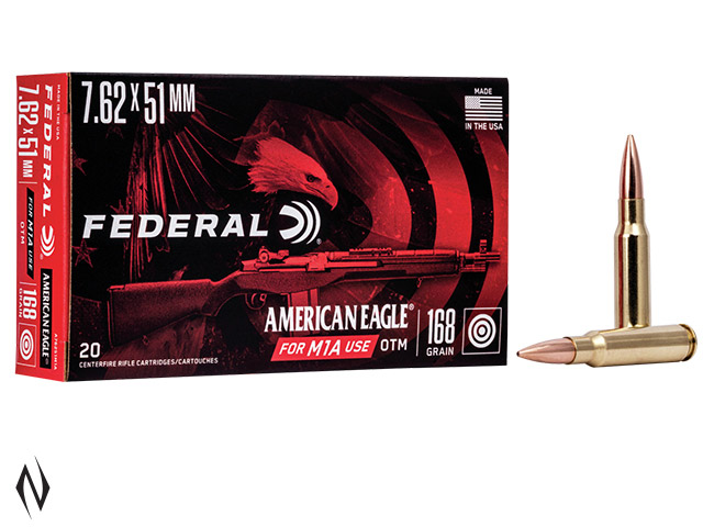 FEDERAL 308 WIN 168GR HP AMERICAN EAGLE Image
