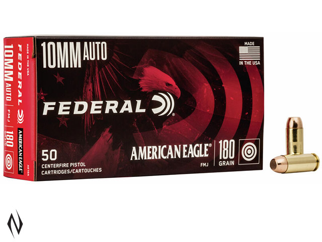 FEDERAL 10MM AUTO 180GR FMJ AMERICAN EAGLE Image