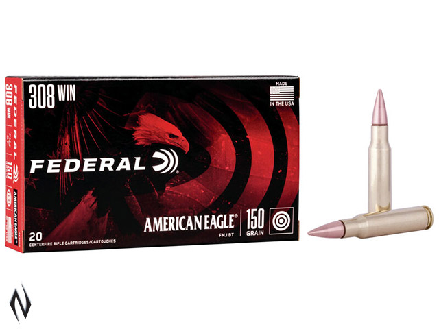 FEDERAL 308 WIN 150GR FMJ AMERICAN EAGLE Image