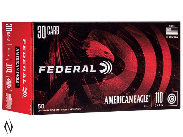 FEDERAL 30 M1 CARBINE 110GR FMJ AMERICAN EAGLE Image