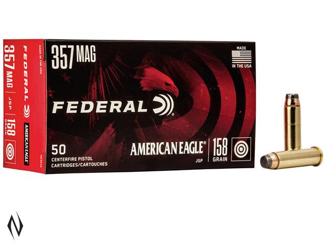 FEDERAL 357 MAG 158GR JSP AMERICAN EAGLE Image