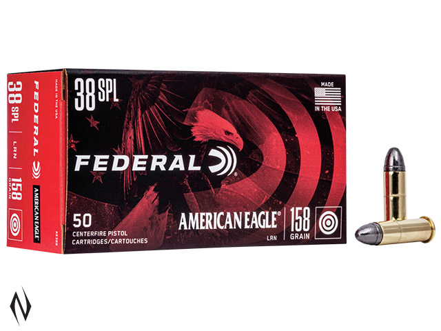 FEDERAL 38 SPL 158GR LEAD RN AMERICAN EAGLE Image