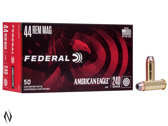 FEDERAL 44 MAG 240GR JHP AMERICAN EAGLE Image