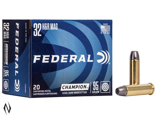 FEDERAL 32 H&R 95GR LEAD SWC Image
