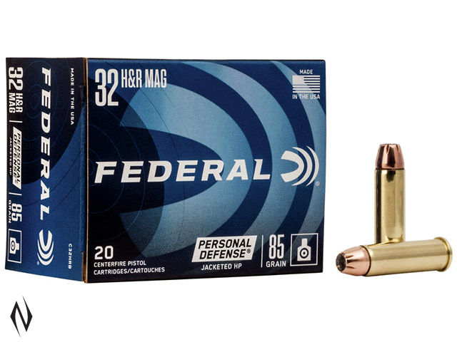 FEDERAL 32 H&R 85GR JHP PD Image