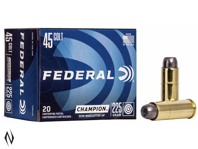 FEDERAL 45 LC 225GR SWC HP Image