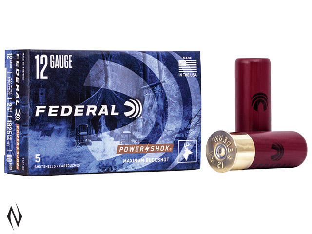 FEDERAL 12G 00/SG BUCK 9 PELLET 1325 FPS Image