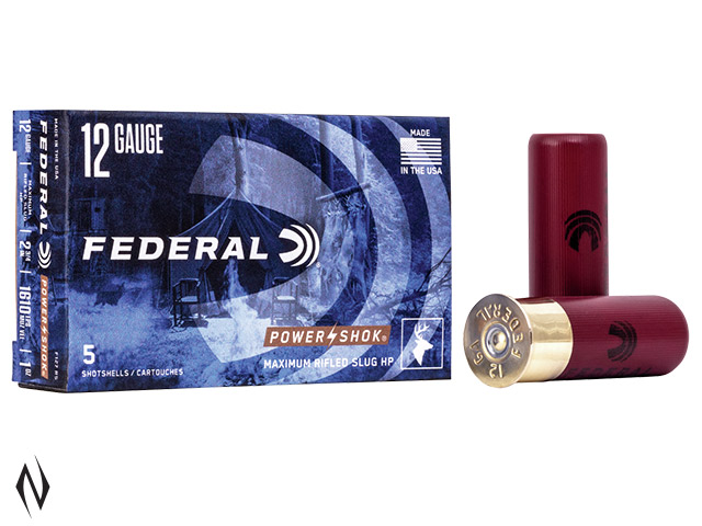 FEDERAL 12G 1OZ RIFLED SLUG HP 1610 FPS Image