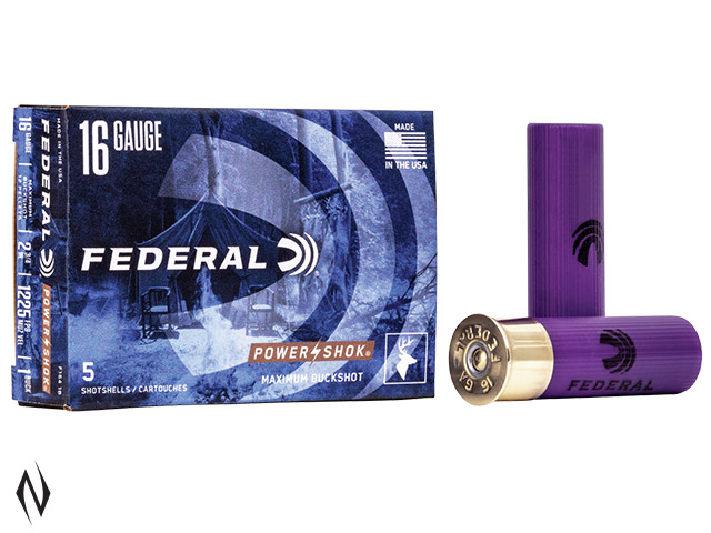 FEDERAL 16G 4/5OZ RIFLED SLUG HP 1600 FPS Image