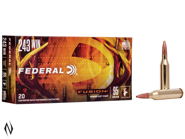 FEDERAL 243 WIN 95GR FUSION Image