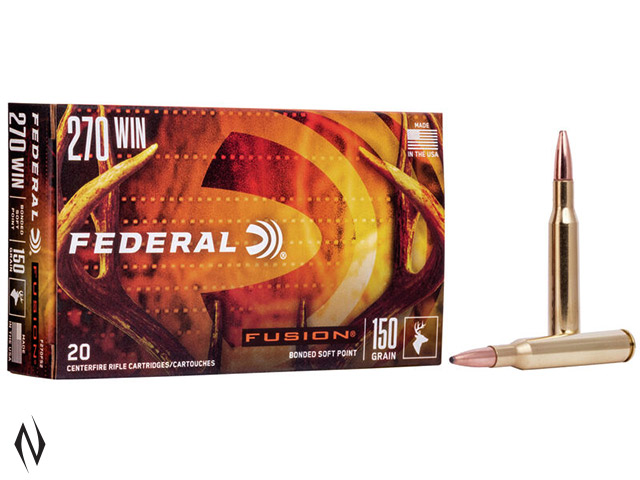 FEDERAL 270 WIN 150GR FUSION Image