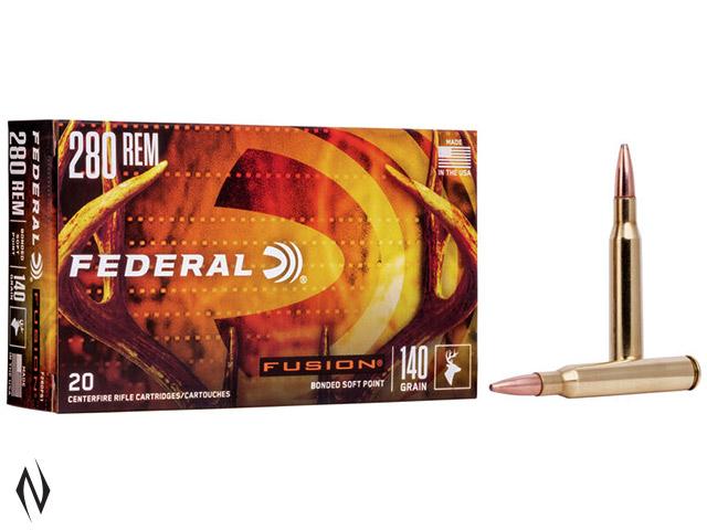 FEDERAL 280 REM 140GR FUSION Image