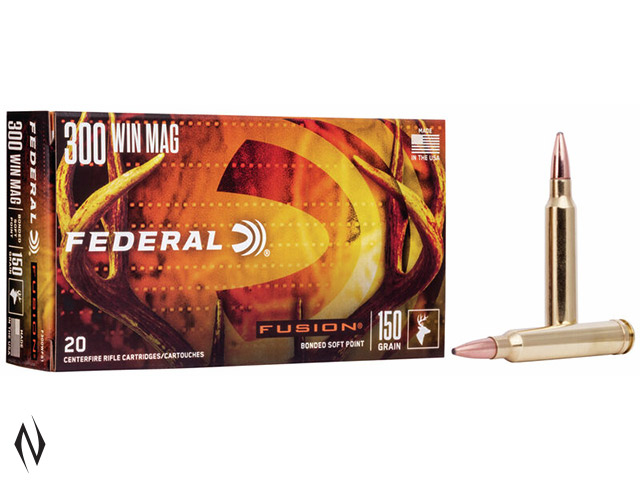 FEDERAL 300 WIN MAG 150GR FUSION Image