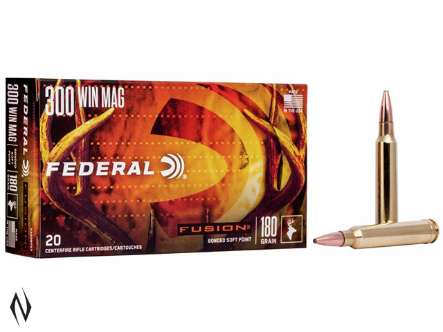 FEDERAL 300 WIN MAG 180GR FUSION Image