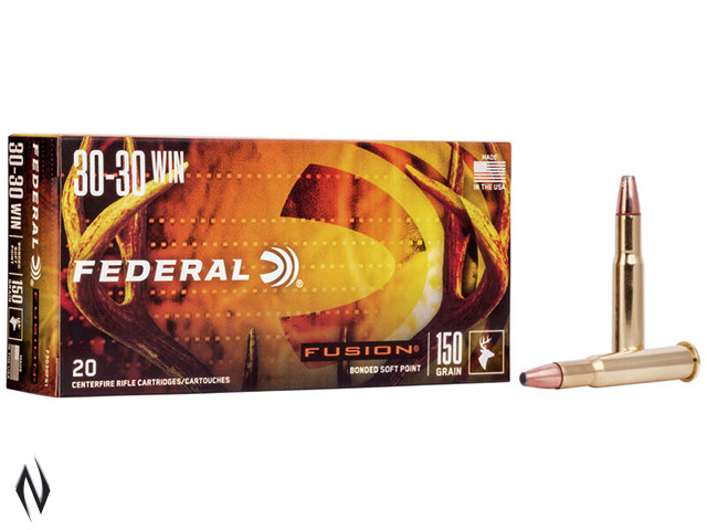FEDERAL 30-30 WIN 150GR FUSION Image
