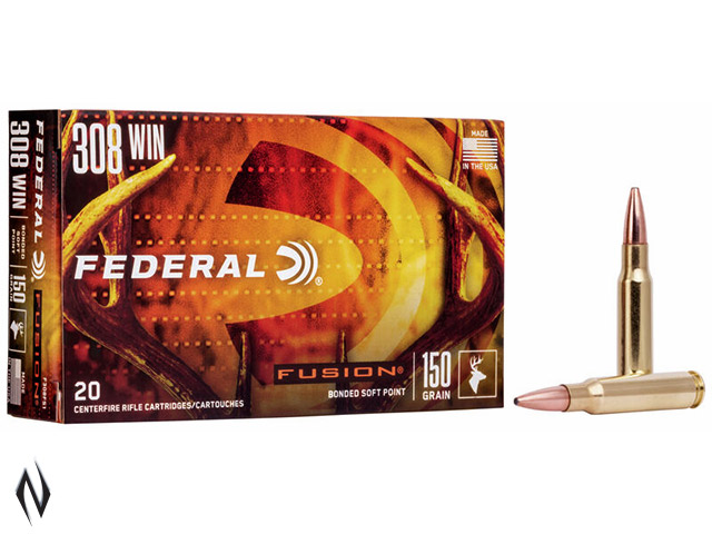 FEDERAL 308 WIN 150GR FUSION Image