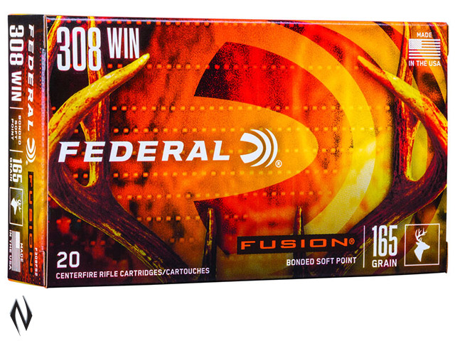 FEDERAL 308 WIN 165GR FUSION Image
