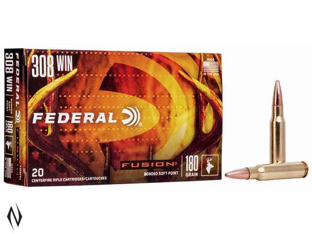 FEDERAL 308 WIN 180GR FUSION Image