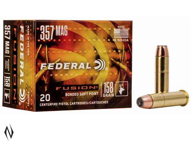 FEDERAL 357 MAG 158GR FUSION Image