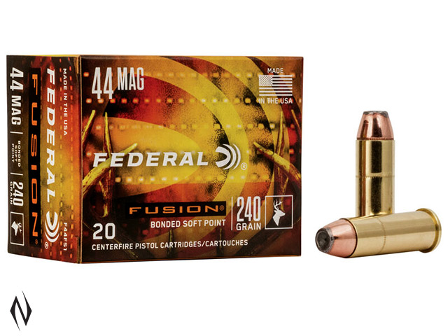 FEDERAL 44 MAG 240GR FUSION Image