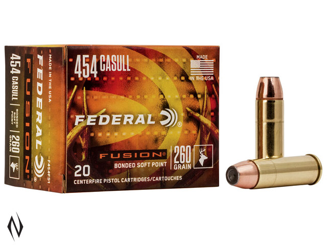 FEDERAL 454 CASULL 260GR FUSION Image