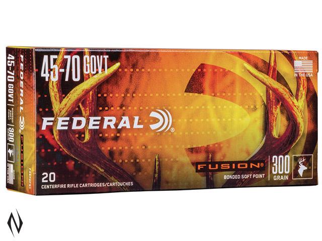 FEDERAL 45-70 GOVT 300GR FUSION Image