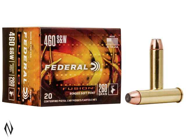 FEDERAL 460 S&W 260GR FUSION Image