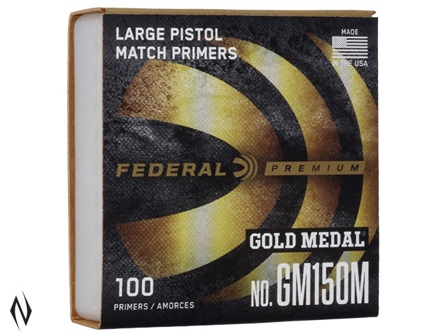 FEDERAL PRIMER GM150M GOLD MEDAL LARGE PISTOL Image