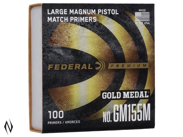 FEDERAL PRIMER GM155M GOLD MEDAL LARGE PISTOL MAGNUM Image