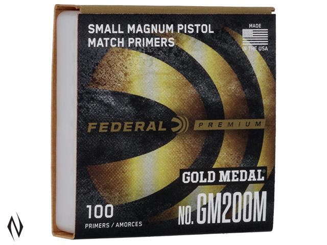 FEDERAL PRIMER GM200M GOLD MEDAL SMALL PISTOL MAGNUM Image