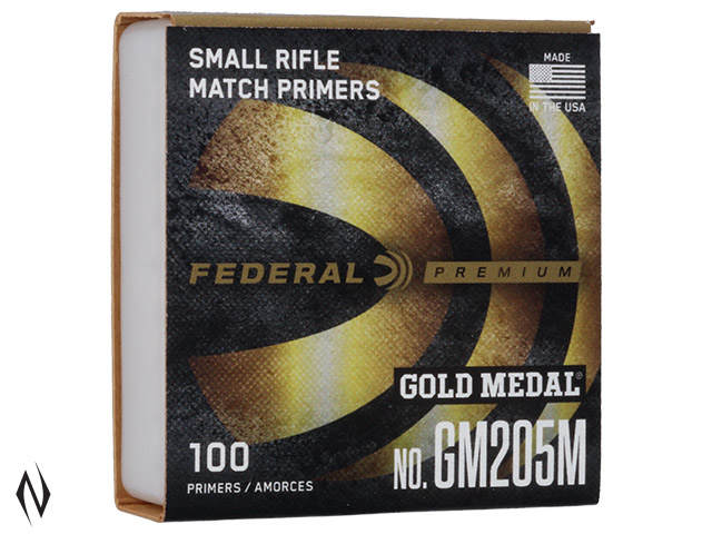 FEDERAL PRIMER GM205M GOLD MEDAL SMALL RIFLE Image
