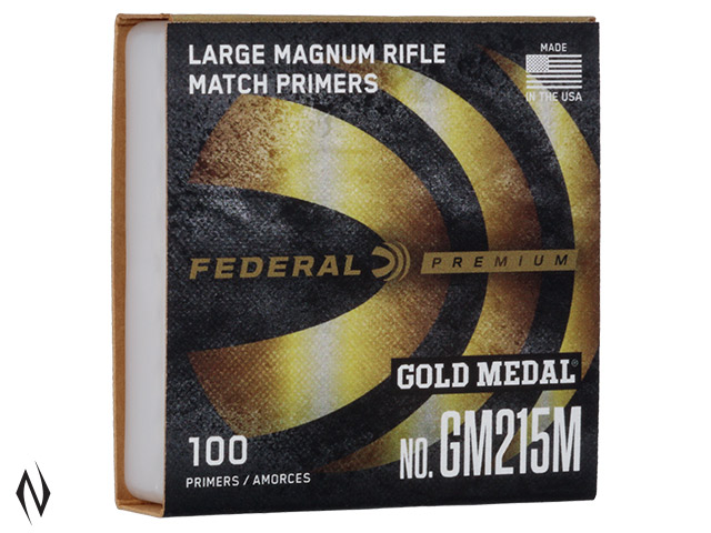 FEDERAL PRIMER GM215M GOLD MEDAL LARGE RIFLE MAGNUM Image