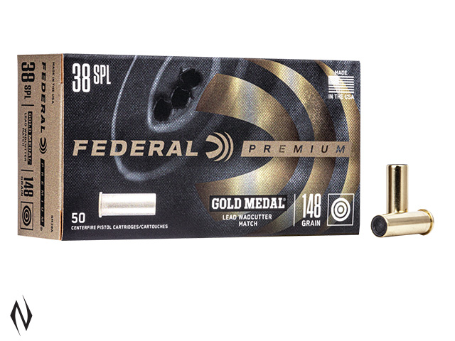 FEDERAL 38 SPL 148GR LEAD WC Image
