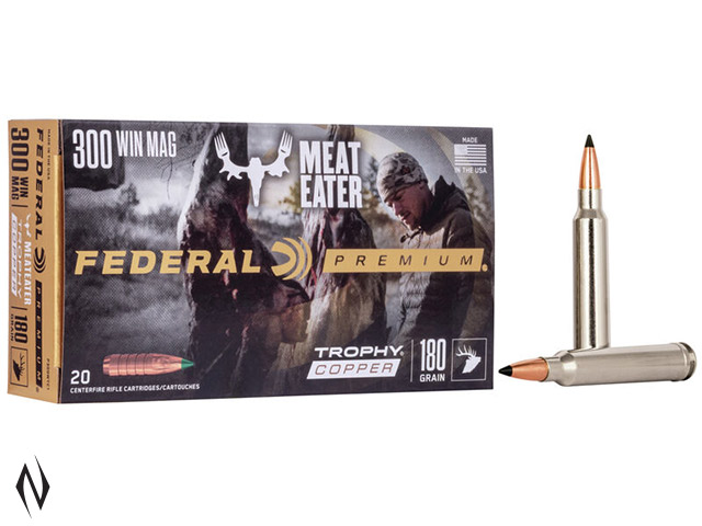 FEDERAL 300 WIN MAG 180GR TROPHY COPPER VITAL-SHOK Image