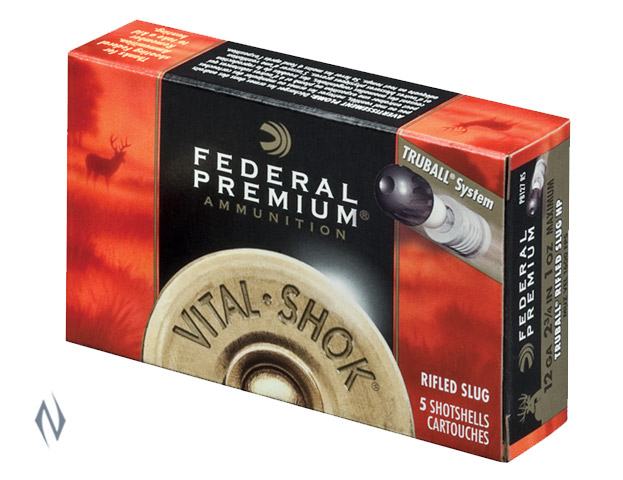 FEDERAL 12G 1OZ TRUBALL RIFLED SLUG 1600 FPS Image