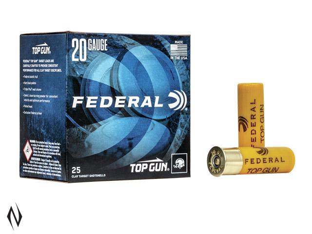FEDERAL 20G 24GR 9 TOPGUN 1210FPS Image