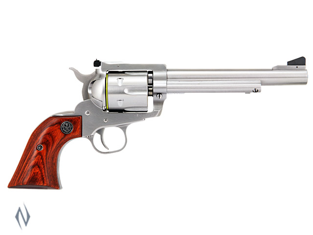 RUGER BLACKHAWK 357 STAINLESS 165MM Image