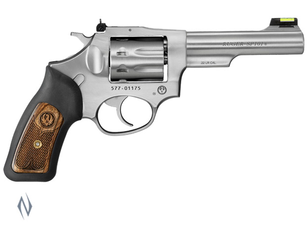 RUGER SP101 22LR STAINLESS 105MM 8 SHOT Image