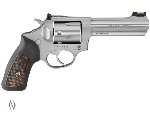 RUGER SP101 357 STAINLESS 5 SHOT 107MM Image