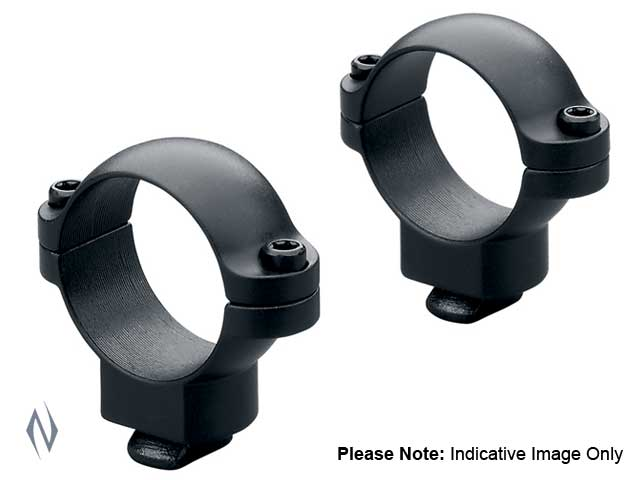 LEUPOLD DUAL DOVETAIL 30MM RINGS MEDIUM MATTE Image