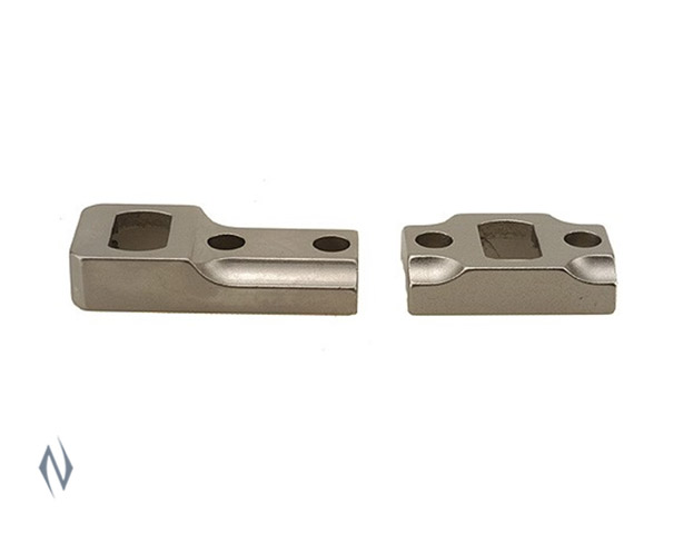 LEUPOLD DUAL DOVETAIL BASES REM 700  SILVER Image