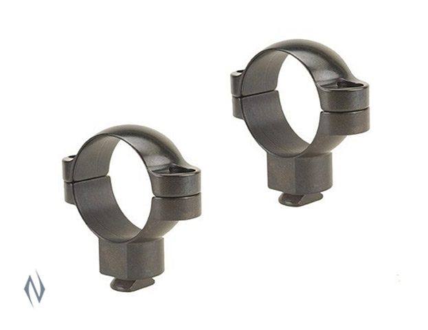 LEUPOLD DUAL DOVETAIL 30MM RINGS SUPER HIGH GLOSS Image