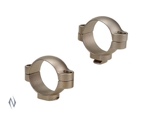 LEUPOLD STD 30MM RINGS MEDIUM SILVER Image