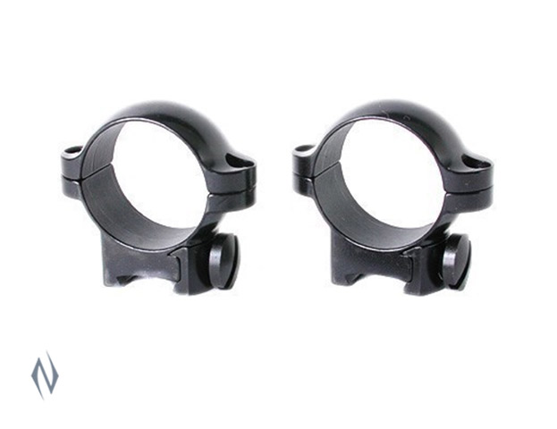 "LEUPOLD RIMFIRE 11MM RINGSET 1"" MEDIUM GLOSS Image"