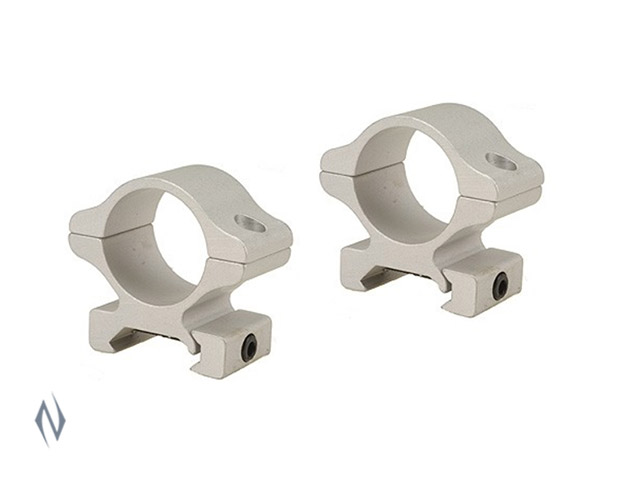"LEUPOLD RIFLEMAN RINGS 1"" DETACHABLE MEDIUM SILVER Image"
