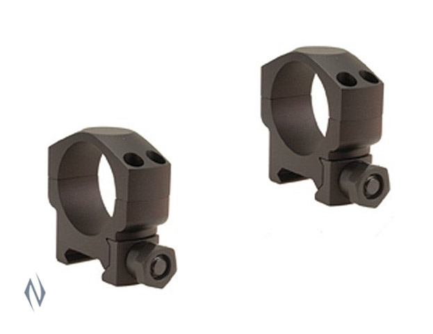 LEUPOLD MARK 4 30MM RINGS MEDIUM MATTE (ALUMINIUM) Image