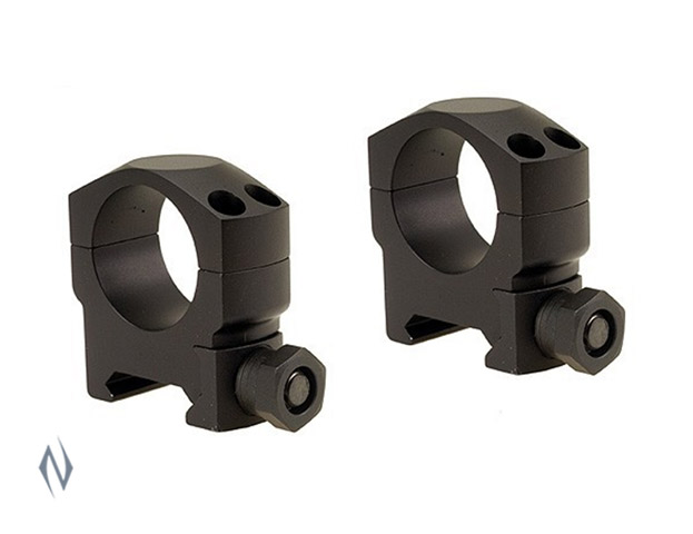 "LEUPOLD MARK 4 1"" RINGS MEDIUM MATTE (ALUMINIUM) Image"